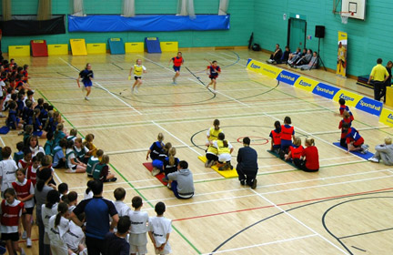 Sportshall Athletics introduction
