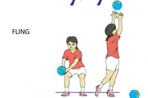 the shoulder fling