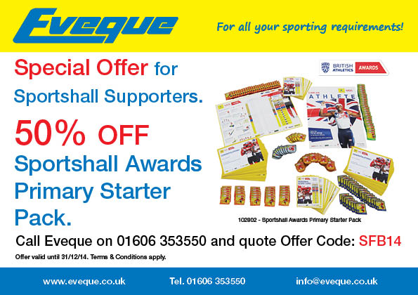 Sportshall Awards Offer