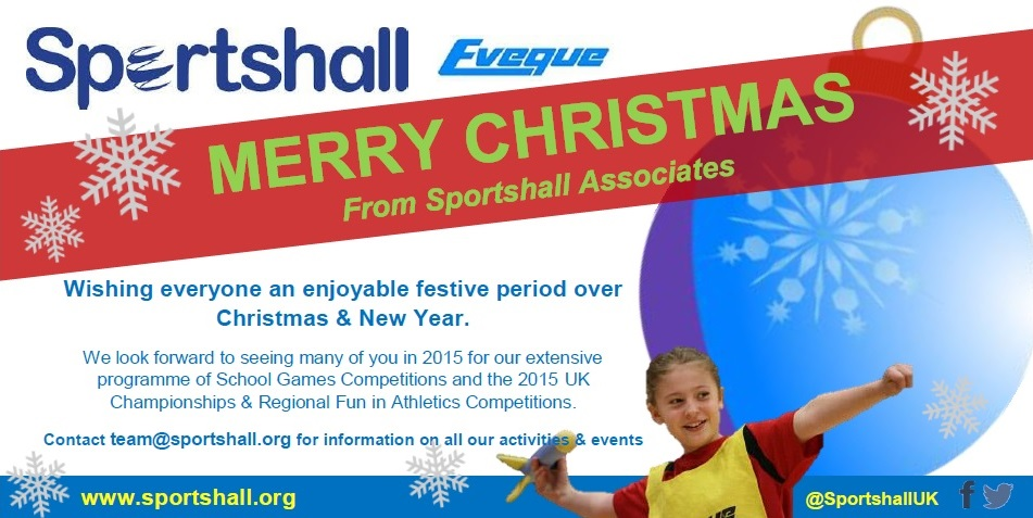 Sportshall Christmas Greetings 2014