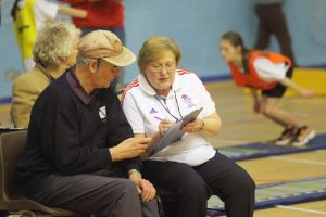 Sportshall Volunteers