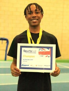 UK Champion 2019
